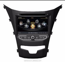 Nuevo 7 pulgadas S100 video del coche para ssangyong Korando 2014 navegación GPS / 3 G / Wifi / Bluetooth car video player