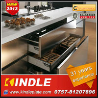 professional customerize stainless steel kitchen furniture for small kitchen