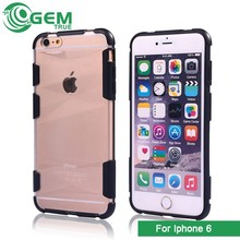 Slim Case Transparent Crystal Clear Hard TPU Cover For iPhone 6 Plus