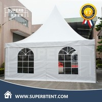 Used Folding Outdoor Metal Roof Gazebo for Sale