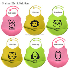 100% Food Grade Fancy Infant Silicone Special Needs Bibs