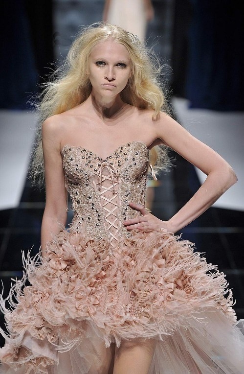 Zuhair Murad Pink Wedding Dress Price 34