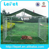 10x10x6 ft classic galvanized outdoor dog kennel wholesale mesh fencing for dogs
