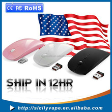 """2.4G RF optical wireless USB mouse for macbook 13"""" PRO AIR 11"""" DELL ACER"""