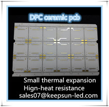 great performance ceramic pcb for round led downlight surface mount dimmable thermal conductivity(W/mK):Al2O3:180