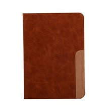 "Shock proof 9.7"" tablet genuine leather case for iPad 6"