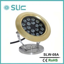 2015 new 23W IP68 swimming pool underwater led light/light swimming pool(SLW-08A)