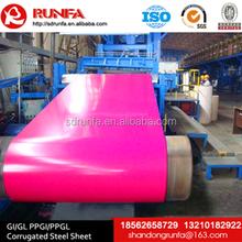 Z40-Z275 width under 1250mm SGCC galvanized colored steel coil