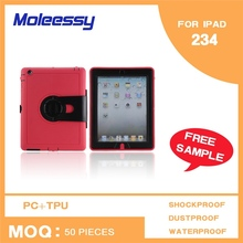 New arrival 3 in 1 2013 fashion trend case for ipad