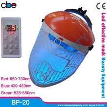 BP-20 most welcomed CE approved photo rejuvenation led home use led light mask