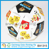 Ball shaped packaging paper box for dry fruit