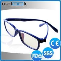 2015 Fashionable Designer Blue Colour Ultem Full Glasses Frames For Men