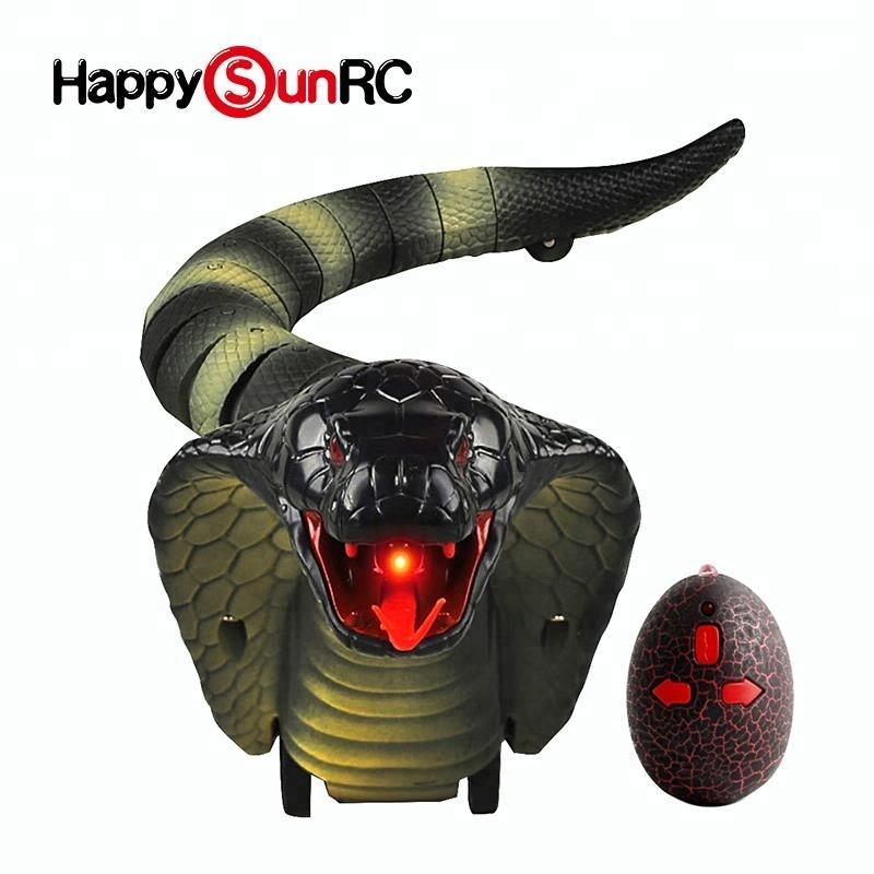 Öykünme rc yılanlar elektronik oyuncak ile kızılötesi kontrollü