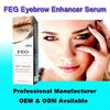 Trial order accepted, lower MOQ OEM 3ml FEG eyebrow enhancer serum , eyebrow extension kit