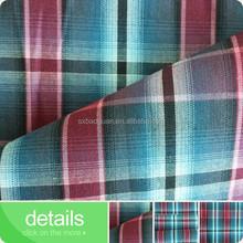 2015 shaoxing baoguan 100% cotton poplin yarn dye cotton poplin