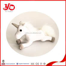Best selling baby stuffed soft toy horse , white lovely horse toy