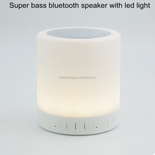 alibaba express bluetooth wireless speaker led light portable for outdoor