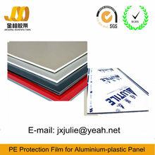 13 años de experiencia pe chapa de aluminio película protectora de plástico de fábrica