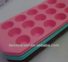 pop 15 cup choclate Silicone Ice Cube Tray