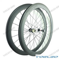50mm Clincher rim OEM 700C No Hole, China No spoke hole Cheap No Brand carbon 700C road bike no hole carbon wheelset