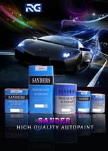 Sanders 2K Solid Colors Car Paint Refinish Paint