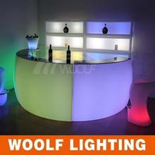 Plastic Remote Control Bar LED Illuminated Furnishing
