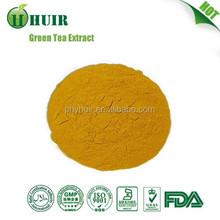 Nature herbal food and beverage ingredient Green Tea leaf P.E.