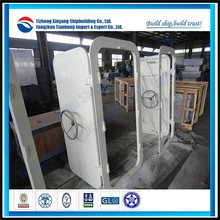 Marine ship alu. watertight hand wheel type door 1800*900 used for engine room