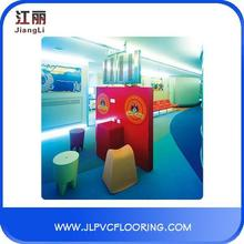 pvc vinyl floor/indoor floor roll basketball