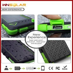 Portable universal solar charger, solar power bank, Sun power for mobile phone