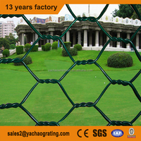 PVC coated weave wire mesh Galvanized hexagonal wire mesh gabion double twist Gabion Box