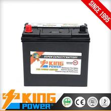 Hot Selling Maintenance free car batery NS60 12V45AH car battery auto car batteries