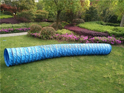 Top strong quality 0.5mm 1000D*1000D PVC Dog Agility Training tunnel