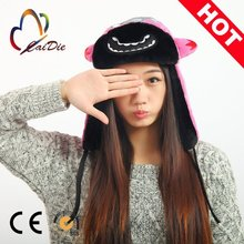High Quality Wholesale Cheap Custom Winter Hat, winter animal hat children