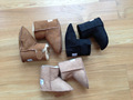 Chaussures de bébé en peau de mouton bottes d'hiver de bébé au chaud