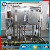 Factory direct sales RO-6000L/H water treatment and bottling plants for filling machine