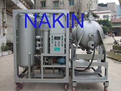 waste car engine oil purifier/filtration/restoration machine