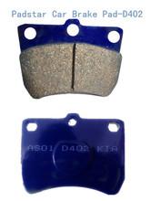 auto parts for accent 2012 brake calipers auto parts disc semi-metallic car brake pad D402