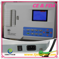 Best Price of CE Marked Digital 3 Channel 12 Leads Portable ECG Machine