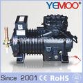 Hp 4 hangzhou yemoo semi- herméticos copeland de pistón pequeño refrigerante freón de gas del compresor