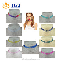 >>> New fashion jewelry Stretch Fishing Line Tattoo choker necklace gift for lovers wholesale mix color