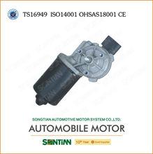 piezas de repuestos de china fabricante del motor del limpiaparabrisas con el engranaje y cepillo 12v o 24v motor de