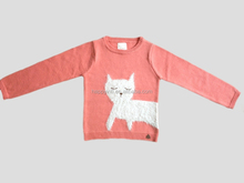 Fashion Intarsia Sweaters Girl's Pullover Children Clothing