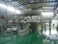 pp spunbonded nonwoven fabric making machines