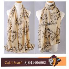 shawl 65% polyester35% viscose