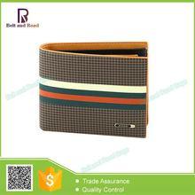 Popular factory price Fashion design pu leather men large capacity wallet