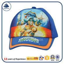 Dragon Chaser cartoon digital printing pattern children visor cap