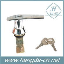 New Design Bright Chromed Plated Metal Cabinet Handle Lock