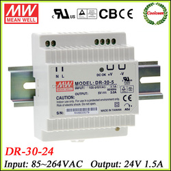 Meanwell DR-30-24 din rail power switching supply