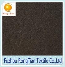 Factory direct sales black weft knitting mercerized velvet fabric